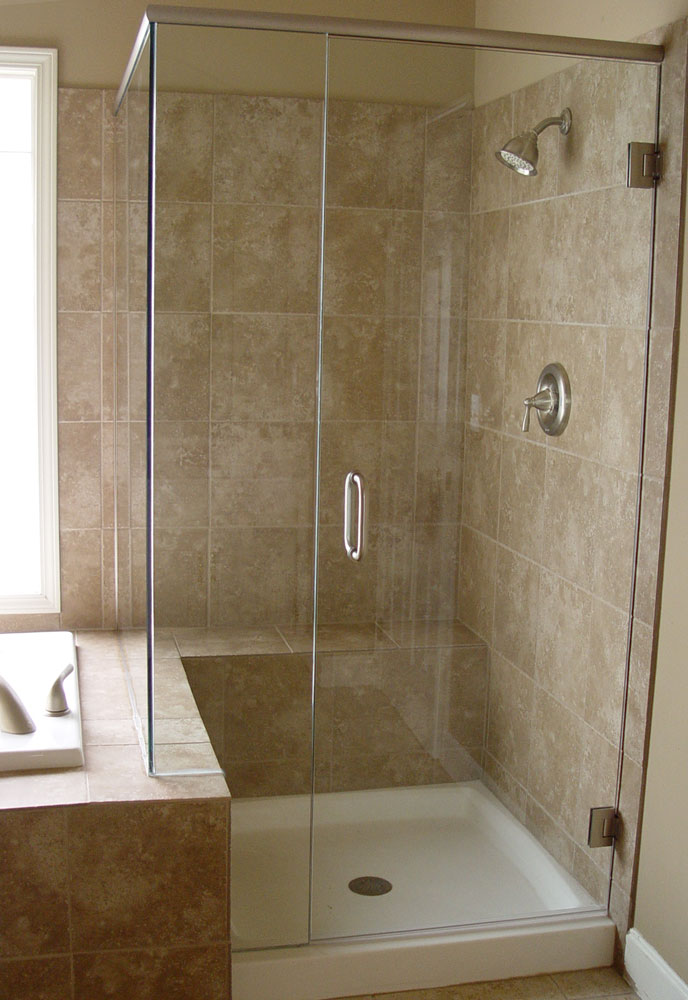 Custom Shower Doors Etched And Painted