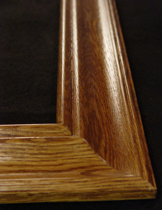 Oak rectangle frame